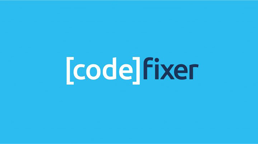 Code fixer logo design