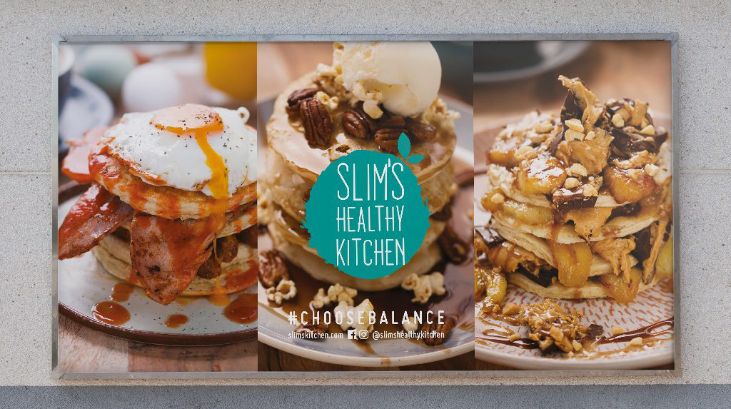 Billboard Design - 48-sheet Design - Slims Healthy Kitchen