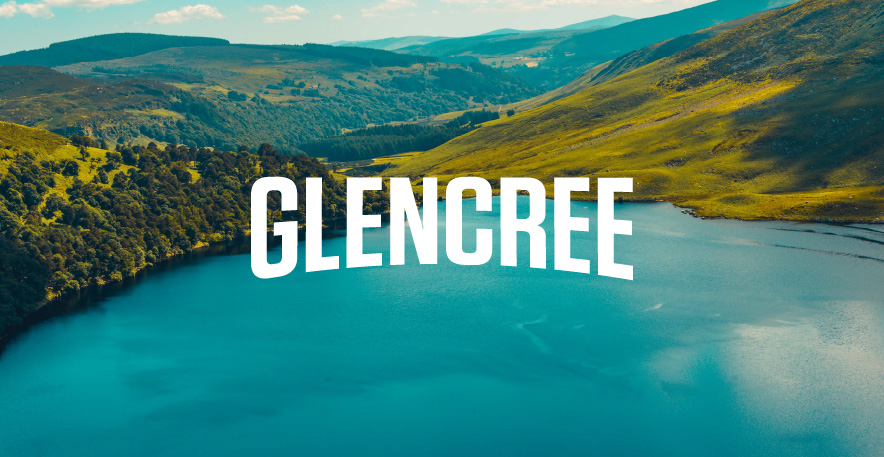 Glencree Irish Whiskey Brand Design | Logo Design | Brand Development