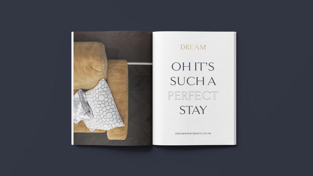 Booklet Design - Brochure Design - Dream Apartments