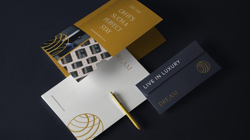 Stationery Design - Dream Apartments