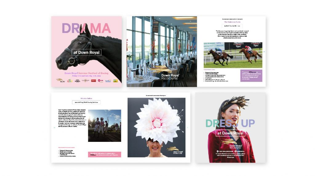 Brochure Design - Down Royal Racecourse, Lisburn