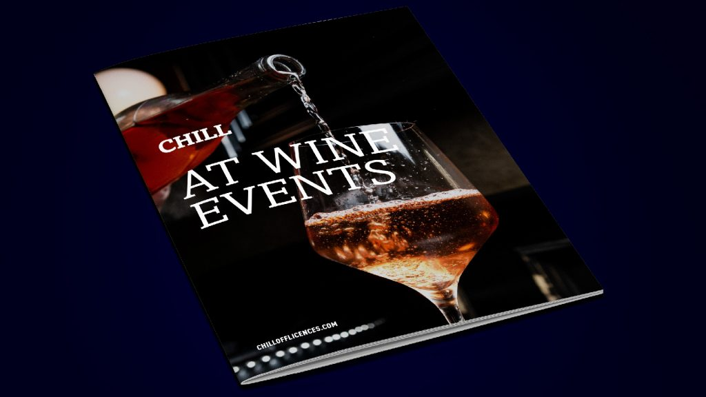 Events Brochure Design - Chill Off Licences, Derry