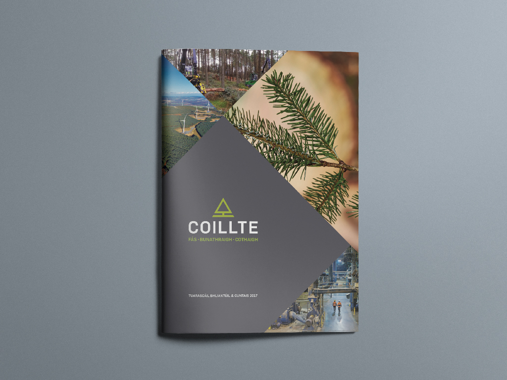 Annual Report Design - Coillte - Wicklow