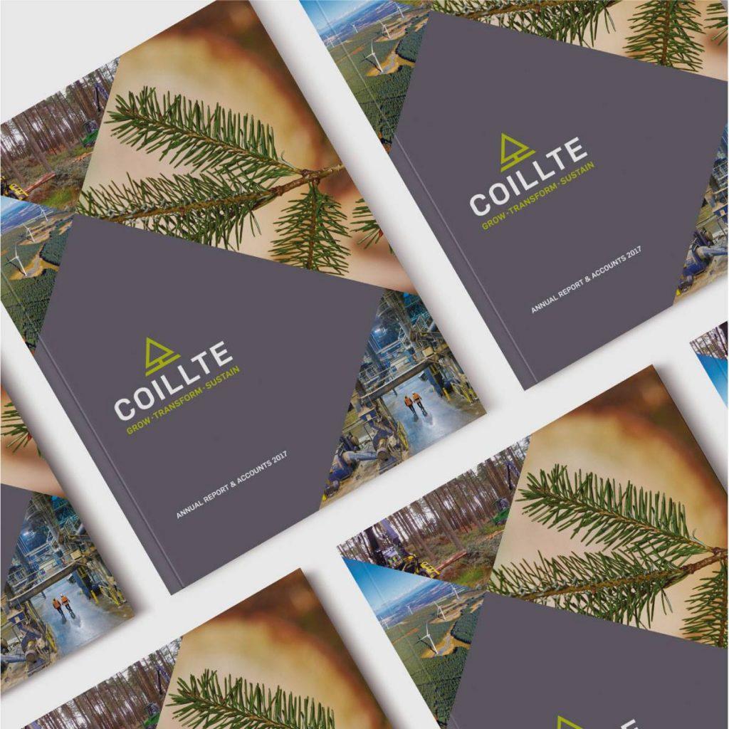 Coillte Annual Report Design